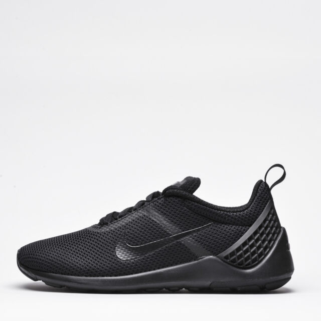 222a5996d145 Nike Lunarestoa 2 Essential Mens Trainers Triple Black Trainers Shoes  Sneakers