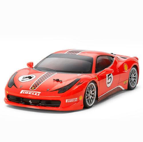 New Genuine Tamiya Ferrari 458 Challenge Body Parts For Most 1 10 TT02 TT01 TL01
