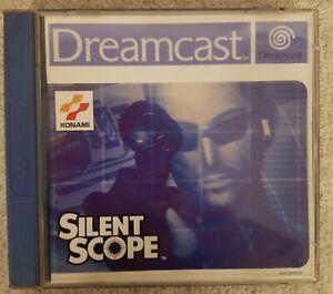 Silent-Scope-para-Sega-Dreamcast-Action-Konami-juego-Game-Konami-culto-aceptable