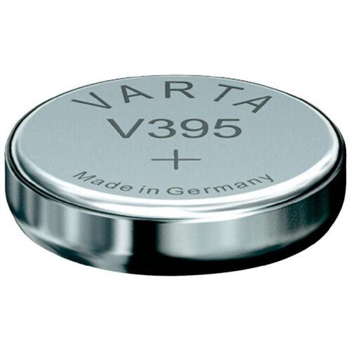 1x VARTA V 395 Knopfzellen Uhrenbatterie Knopfzelle V395 SR57 SR927SW GA7 LR926