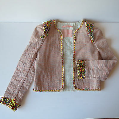 Scotch R'Belle, Girls Age 4, Military Jacket, Runway Sample, Great Party, Dressy