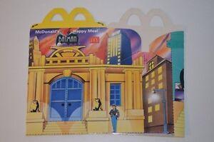 0085-McDonald-039-s-Happy-Meal-Box-empty-Batman-City-Museum-1994-McDonalds