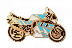 Suzuki GSX Motorcycle Pin Badge