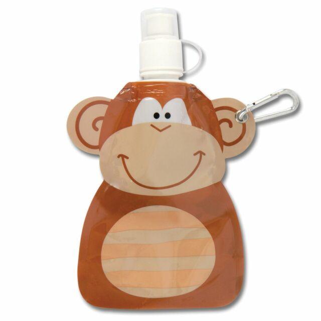 NEW Stephen Joseph Childrens Monkey Little Squirt Drink Bottle Eco BPA Free