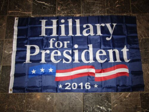 Wholesale Lot 10 3x5 Hillary Clinton For President 2016 Flag 3/'x5/'