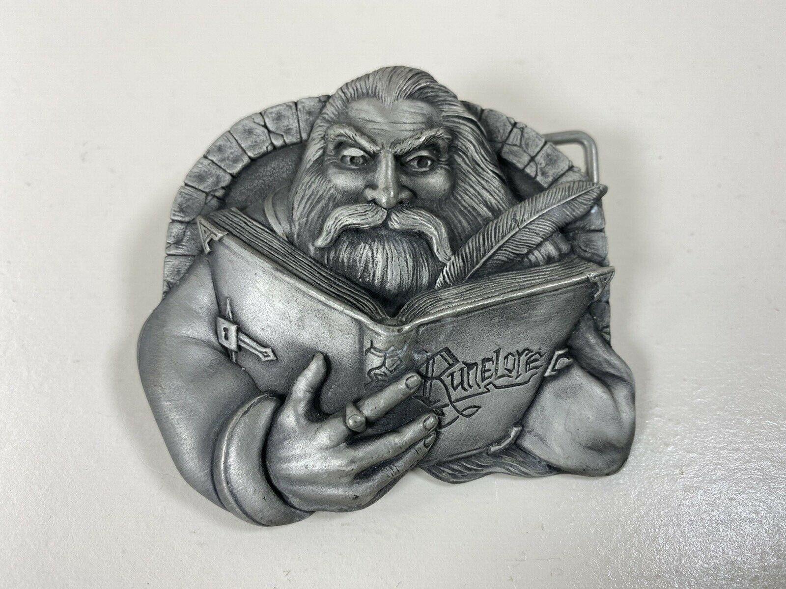 Runelore Belt Buckle Runes Cosplay Fantasy Themed Fandom - The Bulldog Buckle Co