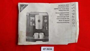 Jura-Impressa-M30-Scala-SCALA-VARIO-X30-INSTRUCCIONES