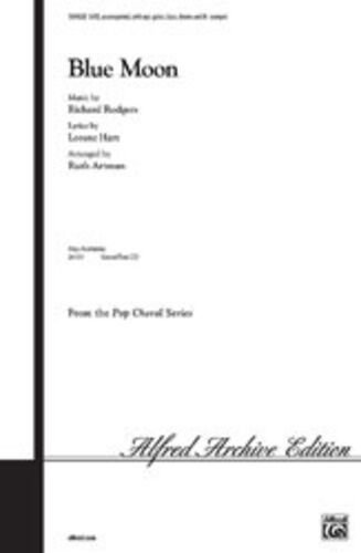Blue Moon SATB SV9028 ALFRED Mixed voices