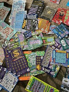 Lot Of 20 Used Iowa Lottery Scratch Off Tickets