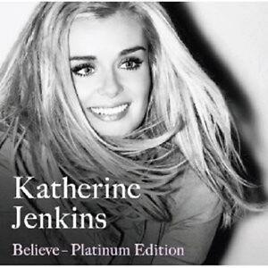Katherine-Jenkins-034-Believe-Platinum-Edition-034-CD-DVD-NUOVO