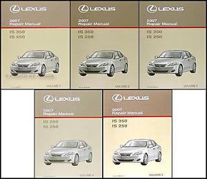 2007 lexus is250 manual
