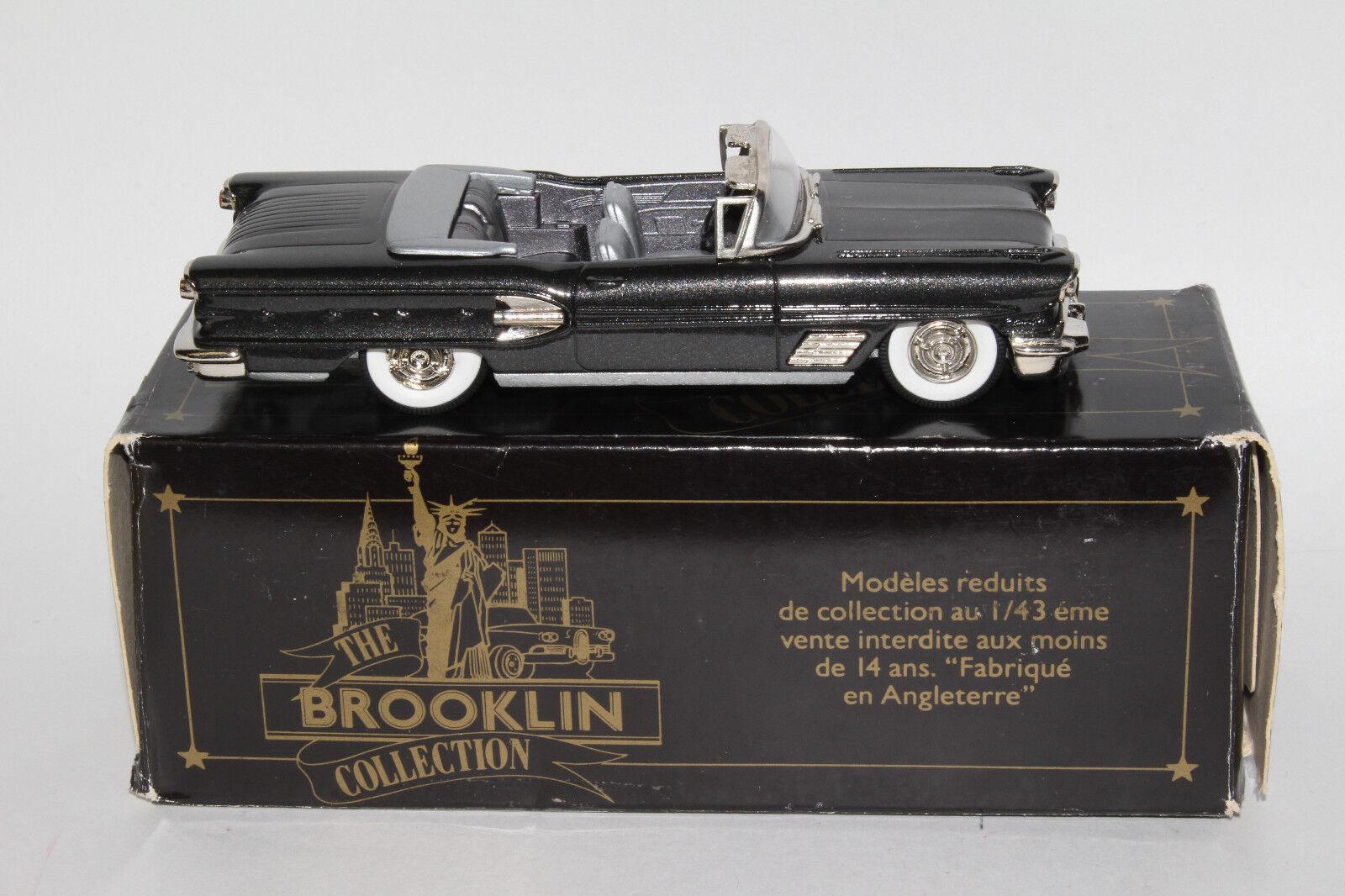 Brooklin models 1958 pontiac bonneville convertible, 1 43 scale with  box  jusqu'à 60% de réduction