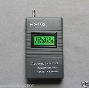 FC-102-Frequency-counter-CTCSS-DCS-Decoder-for-Radio