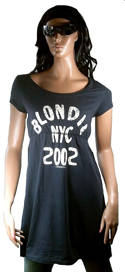 Elegantly Waisted by Amplified Blondie Nyc 2002 Tour Vip Star Top Dress DRESS