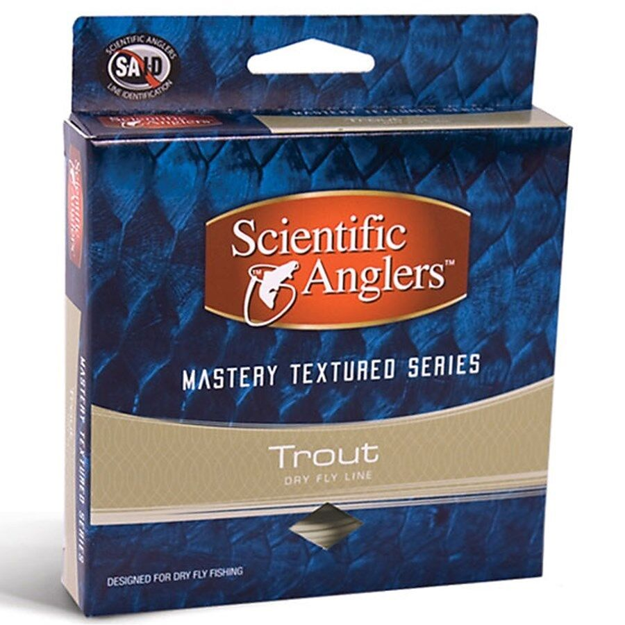 Scientific Anglers Floating Mastery Trout Taper Dry Fly Line Floating Anglers TextuROT 90' - 7 WT 629a65