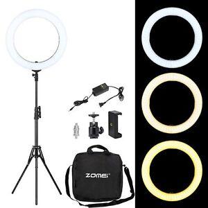 Anillo-de-luz-LED-de-18-pulgadas-ZOMEI-con-Soporte-Regulable-Iluminacion-Fotografia-YouTube
