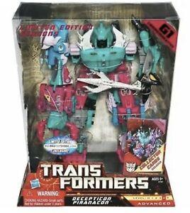 Transformers-G1-COMMEMORATIVA-piranacon-Limited-Ed-Nuovo-Sigillato-toy-action-figure