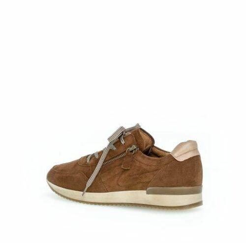 Gabor Damen Sneaker new whisky Größe 37,5 38 38,5 39 40 5342218 Wechselfussbett