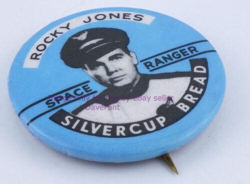 1950s Series Rocky Jones Silvercup Bread Space Ranger Pin Back SHIPS IN A BOX