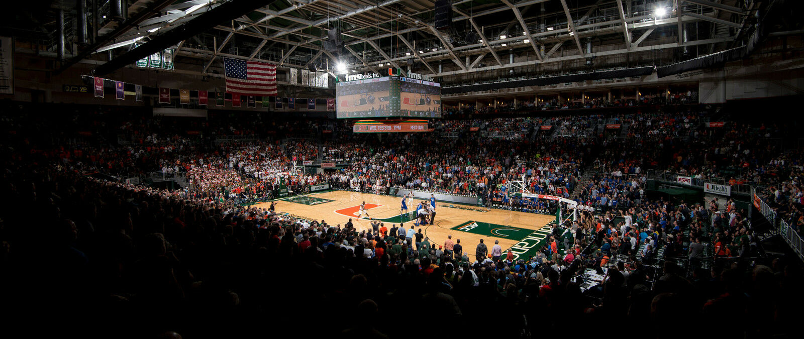 Louisville Cardinals at Miami Hurricanes Basketball