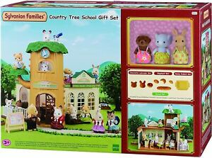 SYLVANIAN-FAMILIES-COUNTRY-TREE-SCHOOL-GIFT-SET-KIDS-TOY
