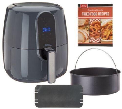 Power Air Fryer Elite 5.5-qt 6-in-1 Digital Air Fryer w// Cake Pan NEW