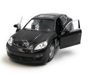 Modellino-Auto-Porsche-Panamera-S-NERO-Auto-1-3-4-39-Licenza