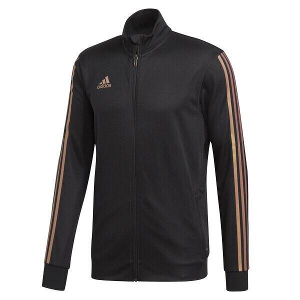 Adidas Para Hombre Chaqueta de pista tiro Negro desnudo Esencia  De Perla DZ8784  buena calidad