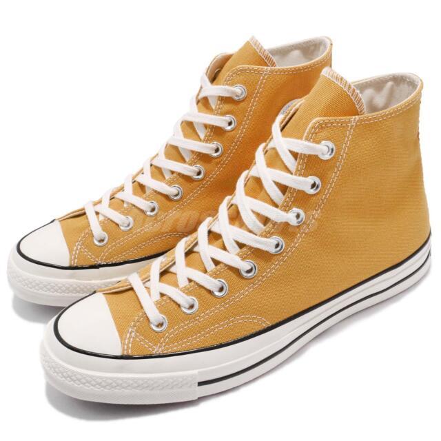50c1c2a20485 Converse First String Chuck Taylor All Star 1970 High Yellow Men Women  162054C