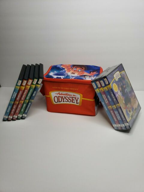 Adventures in Odyssey DVD 17 dvd set & canvas carrying case * Free Shipping *