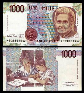 1000 Lire Montessori Série Spéciale De Remplacement Xe Fds Cqqkhrkb-08002713-717793845