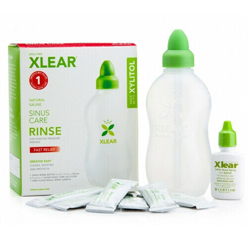 Sinus Cuidado Enjuague 1 Kit Por Xlear Inc