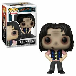 Zombieland Bill Murray 1000 Bundle with 1 PopShield Pop Box Protector Movies Funko Pop