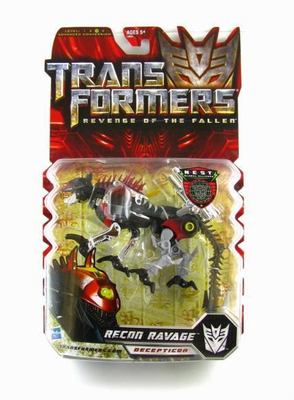Transformers Revenge of The Fallen RECON RAVAGE Deluxe Figure redf RARE