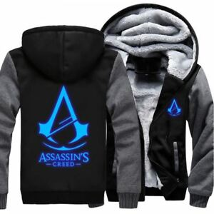 8b53572a6301b1 Image is loading USA-size-Men-Women-Assassins-Creed-Luminous-Jacket-