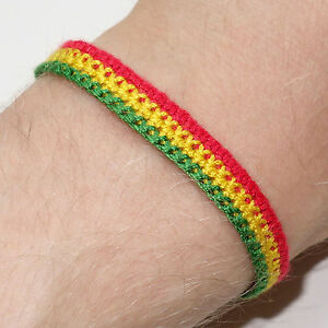 Image Is Loading Rasta Reggae Friendship Bracelet Wristband Jamaica Bob Marley