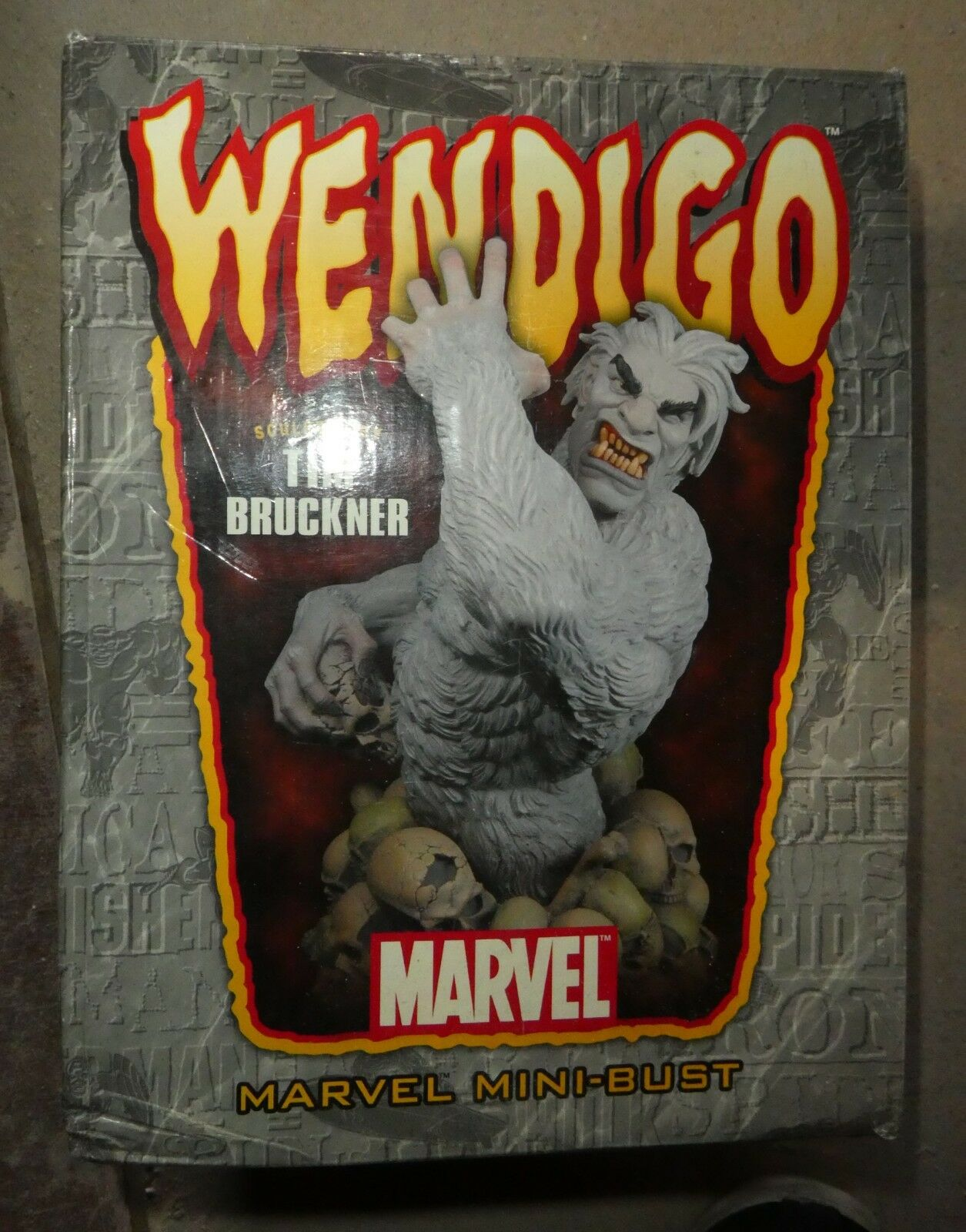 Marvel Comics Bowen WENDIGO hulk BUST Figure  Avengers Ltd ed