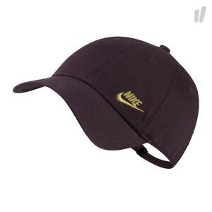 Nike Twill H86 Adjustable Women s Hat Purple Gold Cap One Size New ... 2d8c04332b40
