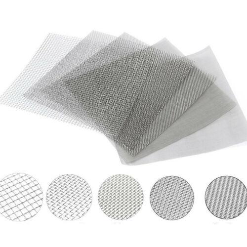 Edelstahl Filtration Filter Mesh Drahtgewebe Bildschirm10//100//300//500Mesh