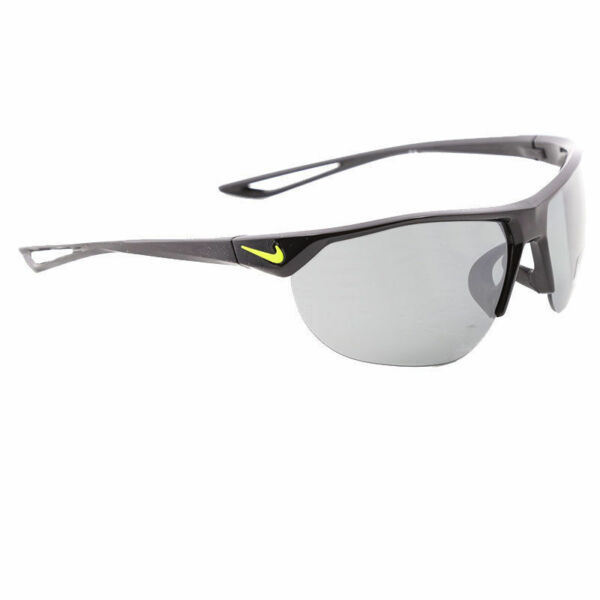 2df2482d8663 Nike Golf Cross Trainer Sunglasses Ev0937 Gray Silver Flash Lens Black/volt  Frame 67 for sale online | eBay