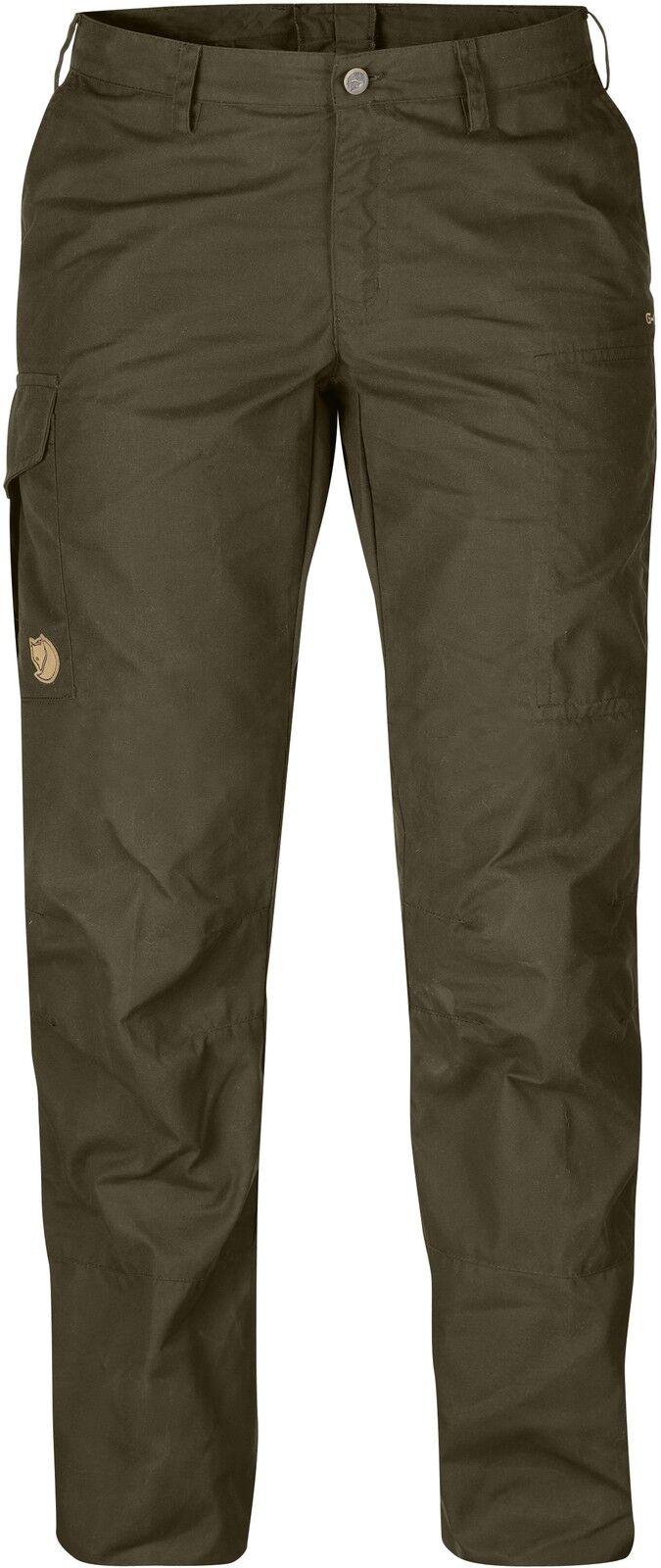 Fjällräven Karla Pro Trousers 89726 dark oliv G-1000 Damenhose Outdoor Jagdhose  | Export