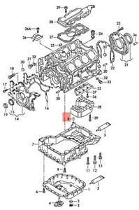 Genuine Bungs AUDI VW 100 quattro A4 Avant S4 Cabrio A6 allroad 4A0129697