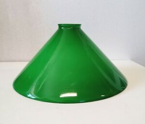 Vetro cono di ricambio per lampada campana paralume applique lampadario verde