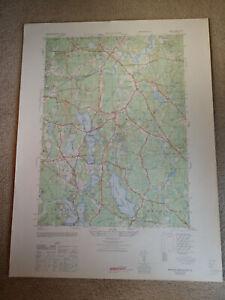 Large-28x22-1947-Topo-Map-Hanover-Massachusetts-Pembroke-Silver-Lake-Fireworks