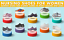 miniature 37 - Clogs for Women Slip Resistant Shoes For Women Nurse Shoes Butterfly Garden Clog