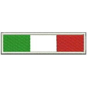 ricamate 8 x 5,5 cm applicazione stick-emblema Bandiera Francia ☆ ☆ 20402