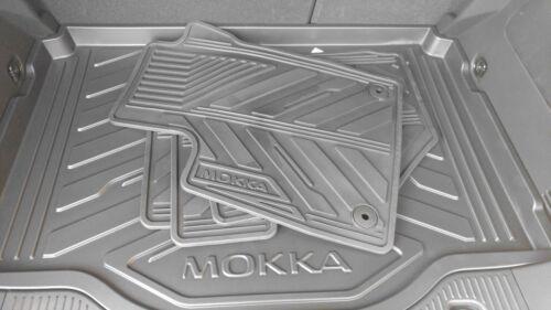 MOKKA X Schutz-und Schmutzpaket *NEU* OPEL MOKKA Laderaumschale + Gummimatten
