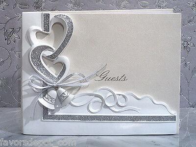 Wedding Bells Guest Book Pen Set Cake Knife Server wedding