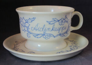 ARABIA-OF-FINLAND-Vintage-Mothers-Tea-Cup-amp-Saucer
