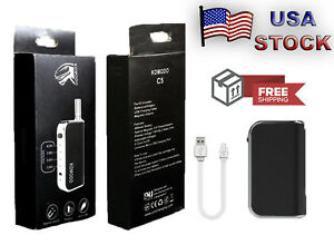 FREE-USA-SHIP-Komodo-C5-Box-Mod-510-battery-w-0-5-and-1-0-ml-510-Adapter
